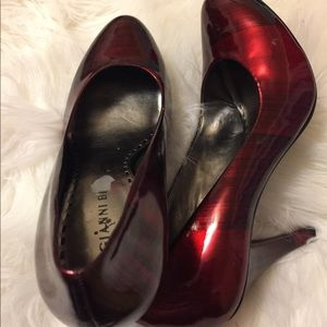 Ruby pumps